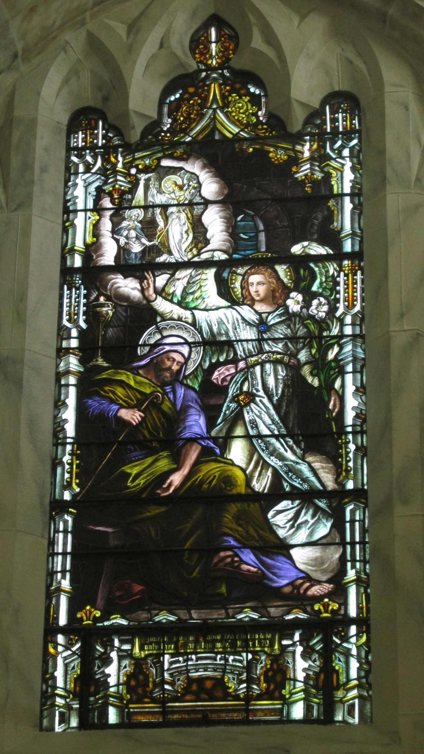 St. Joseph Dream - Basilica of St. Mary of the Angels